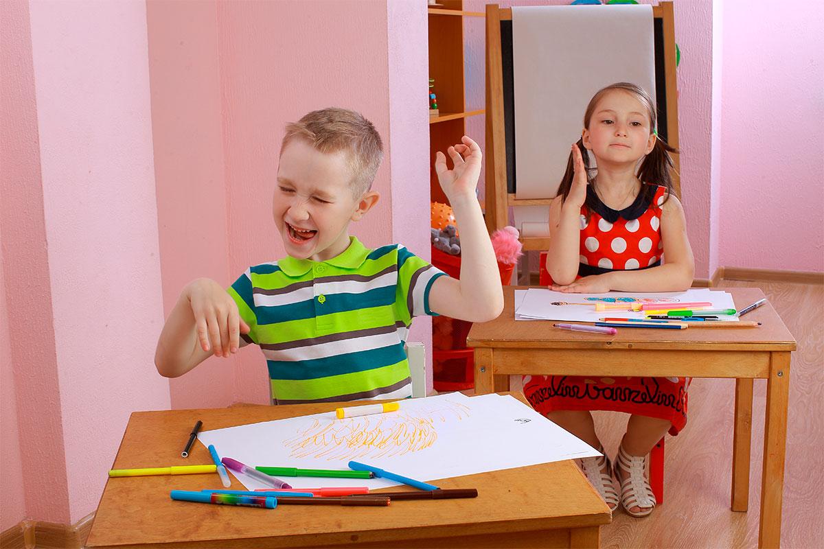 Los hiperactivos, olvidados por el sistema educativo