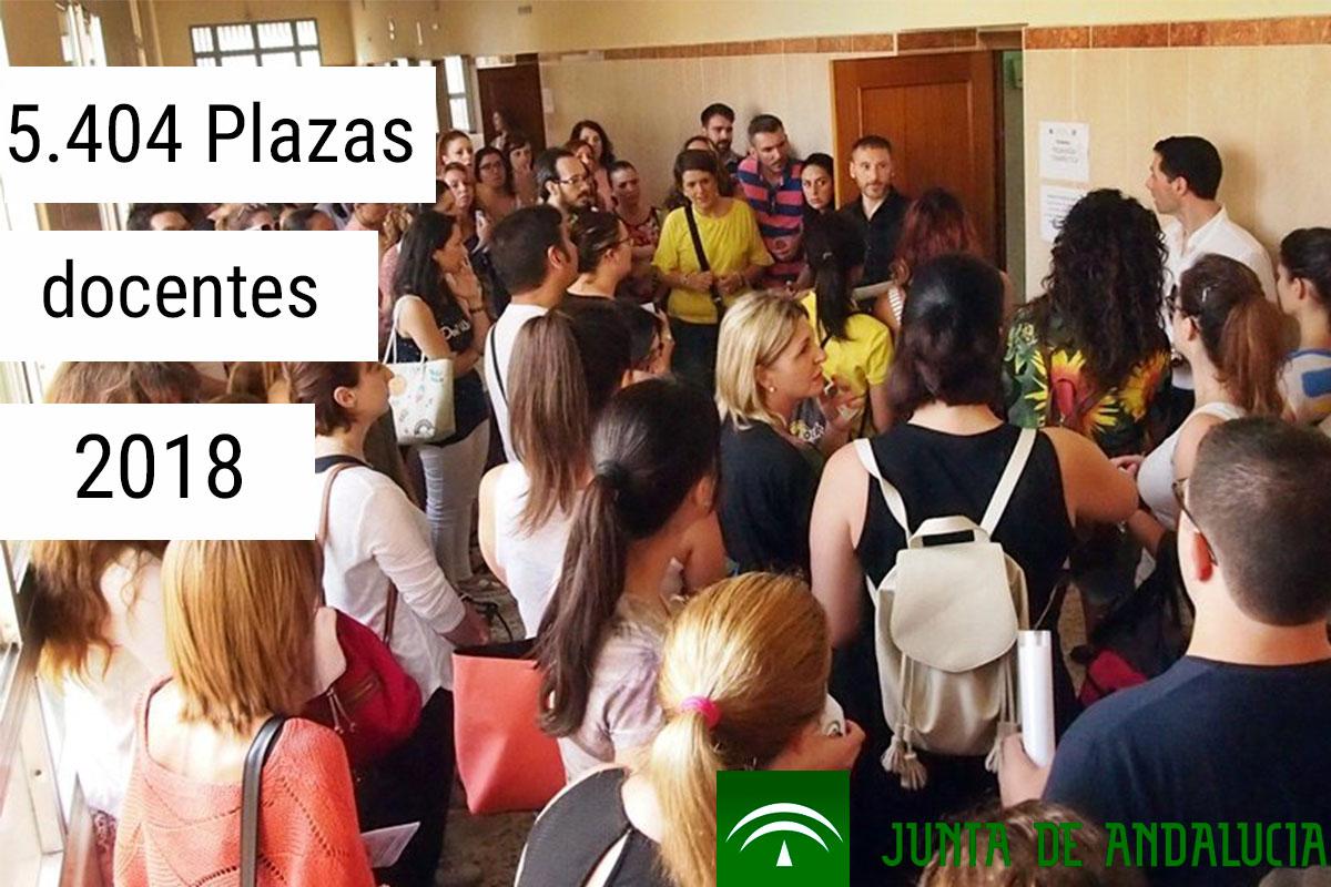 La consejería convocará 5.404 plazas para los docentes de Secundaria y FP