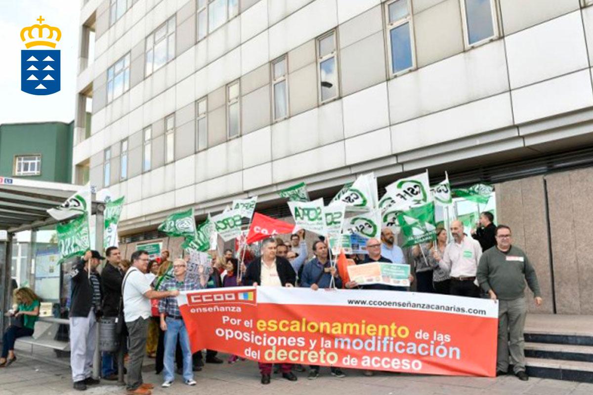 Canarias: La consejería va a reducir plazas en las oposiciones