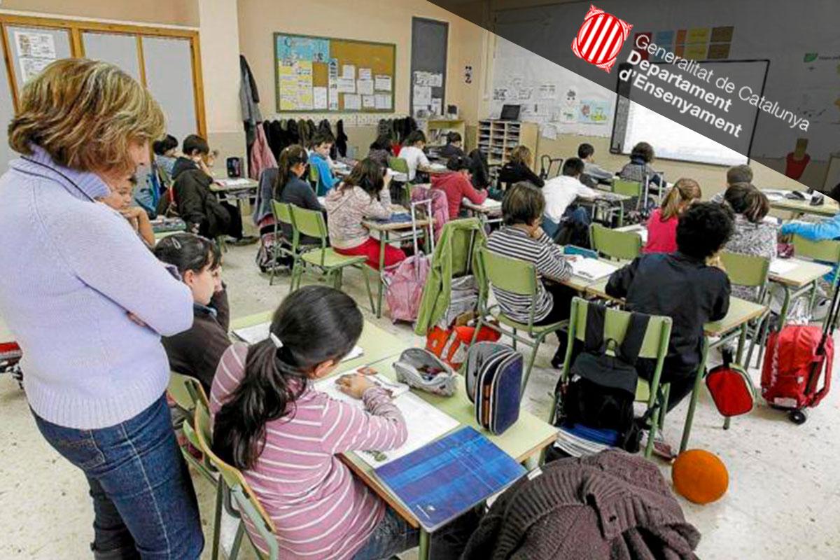 Ensenyament abre la bolsa de interinos docentes que no tienen el máster de Secundaria