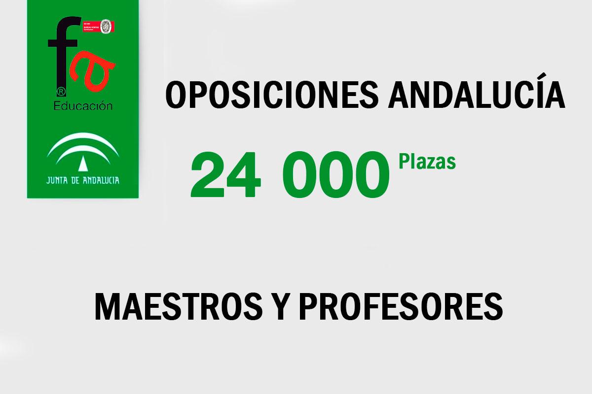 Las 24.000 plazas que salen a oposición hasta 2022 en Andalucía para maestros y profesores