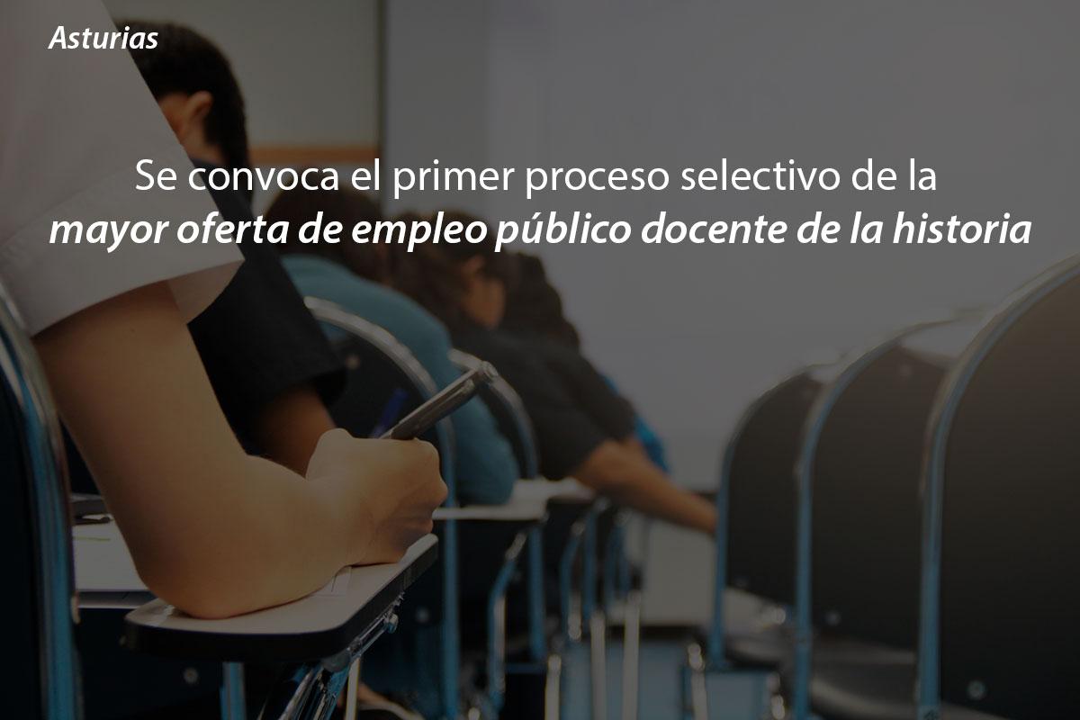 Asturias: Se presentarán un total de 4.764 docentes del cuerpo de profesores de Secundaria y 686 de técnicos de Formación Profesional a las oposiciones
