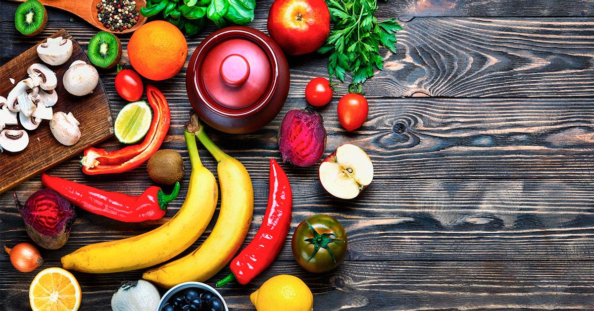 Las frutas y verduras van a la escuela
