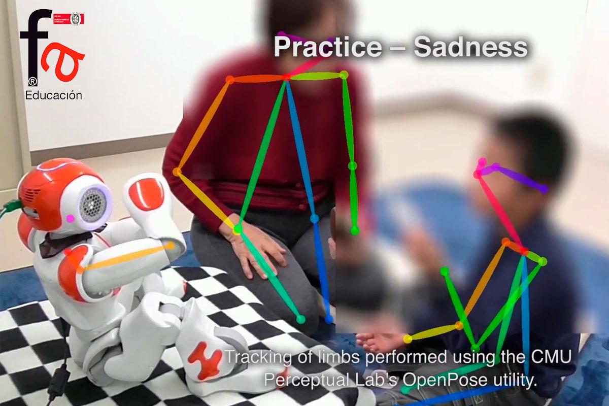Terapias personalizadas con robots a niños con TEA