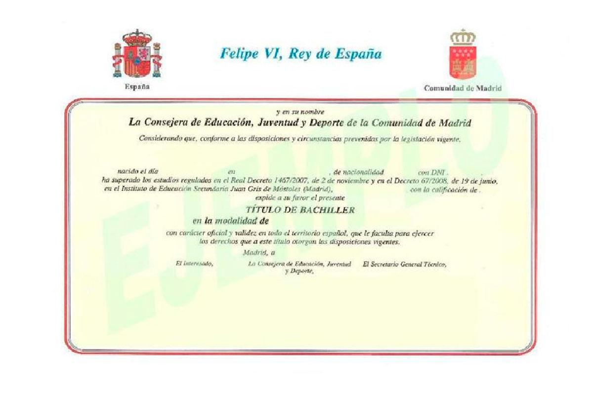 El Gobierno dará el título de Bachillerato con una asignatura suspendida