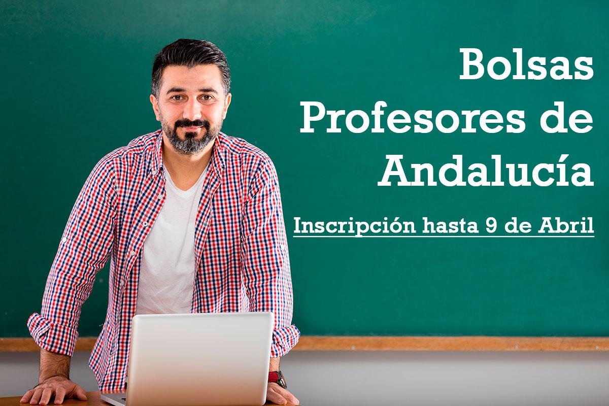 Abierta la Bolsa de Profesores de Andalucía