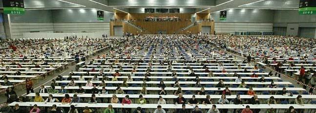 Aspirantes a pertener al cuerpo de profesores